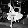 Marilyn Monroe On Subway Grate by Bettmann