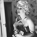 Marilyn Monroe With Chanel No. 5 by Michael Ochs Archives