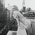 Marilyn On The Roof by Michael Ochs Archives