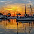 Marina Sunrise-2 by John Zawacki