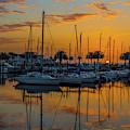 Marina Sunrise-3 by John Zawacki