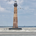Maritime Lighthouse Symbol by Dale Powell