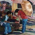 Market Scene Divisoria by Edwin Villavera