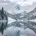 Maroon Bells Mountain Reflections - Aspen Colorado Autumn by Gregory Ballos