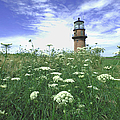 Marthas Vineyard Lighthouse At Aquinnah by Alfred Eisenstaedt
