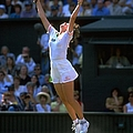 Martina Hingis And Jana Novotna by Gary M. Prior