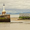 Maryport Lighthouse Cumbria by Martyn Arnold