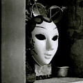 Mask In The Window by Shaun Higson