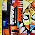 Mask Portrait by Olumide Egunlae