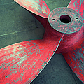 Massive Propeller Distressed Red by Peskymonkey