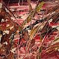 Mauve Floral                 Ap7 by Cheryl Nancy Ann Gordon