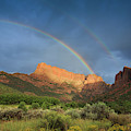 Maxwell Canyon Rainbow by Maria Jeffs