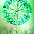 May Birthstone - Emerald by Amanda Lakey