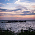 May Skies Lavallette New Jersey Square by Terry DeLuco