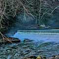 Mcconnells Mill Slippery Rock Creek And Falls by Janice Pariza