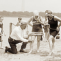 Measuring Swimsuits, 1920s by Graphicaartis