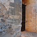 Medieval Castle Entrance In Algarve by Angelo DeVal