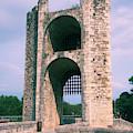 Gate Tower Besalu Spain by Yulia Kazansky