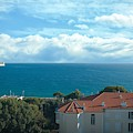 Mediterranean View In Cannes by Luther Fine Art