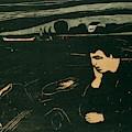 Melancholy IIi by Edvard Munch