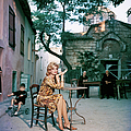 Melina Mercouri by Slim Aarons