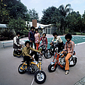 Members Of Pop Group Jackson Five by John Olson