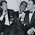 Members Of The Rat Pack At Carnegie Hall #1 by The Titanic Project