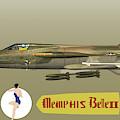 Memphis Belle II Profile 2 by John Matthews