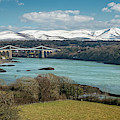 Menai Bridge Anglesey by Adrian Evans