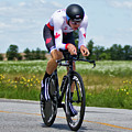 Mens Individual Time Trial No 1 by Brian Carson