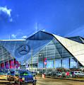 Mercedes Benz Stadium Atlanta Super Bowl 2019 Art by Reid Callaway