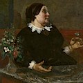 Mere Gregoire by Gustave Courbet