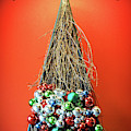 Merry Christmas Twig Tree by Bill Swartwout Photography