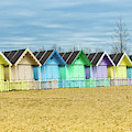 Mersea Island Beach Huts, Image 3 by Jon Dawrant