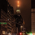 Metlife Tower After Dark by Sharon Popek