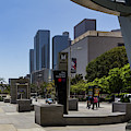 Metro Station Civic Center Los Angeles by Roslyn Wilkins