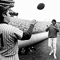 Mets Tom Seaver Warms Up Jets Joe by New York Daily News Archive