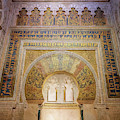 Mezquita-cathedral Mihrab Cordoba Spain by Joan Carroll