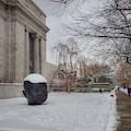 Mfa Boston Winter Landscape by Mary Capriole