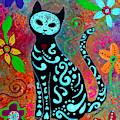 Mi Gato Dulce by Pristine Cartera Turkus