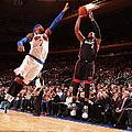 Miami Heat V New York Knicks by Nathaniel S. Butler