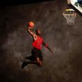 Michael Jordan Mock Action Portrait by Nba Photos