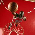 Michael Jordan Slam Dunk by Nba Photos