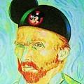 Mickey Van Gogh by Rob Hans