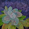 Midnight Magnolia I by Shadia Derbyshire