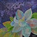 Midnight Magnolia II by Shadia Derbyshire