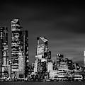 Midtown Manhattan In Black And White by Kristen Wilkinson