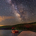 Milky Way On Donner Lake by Jack Peterson