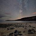 Milky Way Over Sand Beach by Darylann Leonard Photography