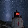 Milky Way Rising Over Castle Hill by Susan Candelario